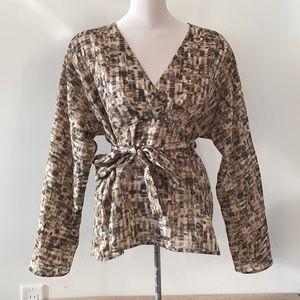 Hugo Boss floral blouse